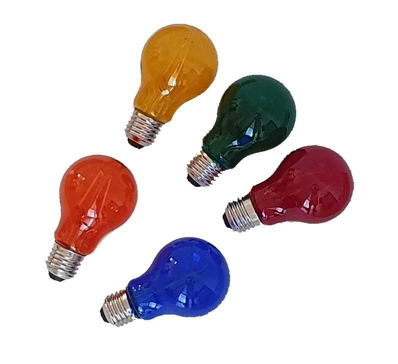 LED Filament lamps coloured E27