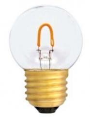 LED Filament Tropfenlampe E27, 0,6W klar