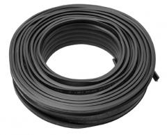 Illuminationsleitung schwarz 2x1,5 (100m Ring)