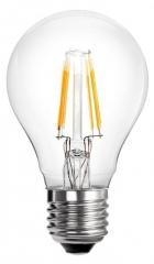LED filament lamp E27 Classic-A60 4W