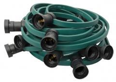 ILLU-Endlos-Lichterkette E27, grün, 100m, 150Fassungen