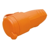Rubber made socket orange