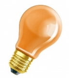 lightbulb 15W orange
