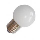 LED Tropfenlampe E27, 0,7W matt weiss