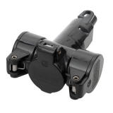3-way-coupler thermoplast black