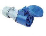 CEE-Kupplung 3-polig 16A/250V~ blau