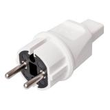 Illu-Contours plug white, German System