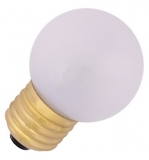 LED lamp E27, 0.7W drop shaped, warm white frosted