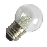 LED Tropfenlampe 0,6W klar